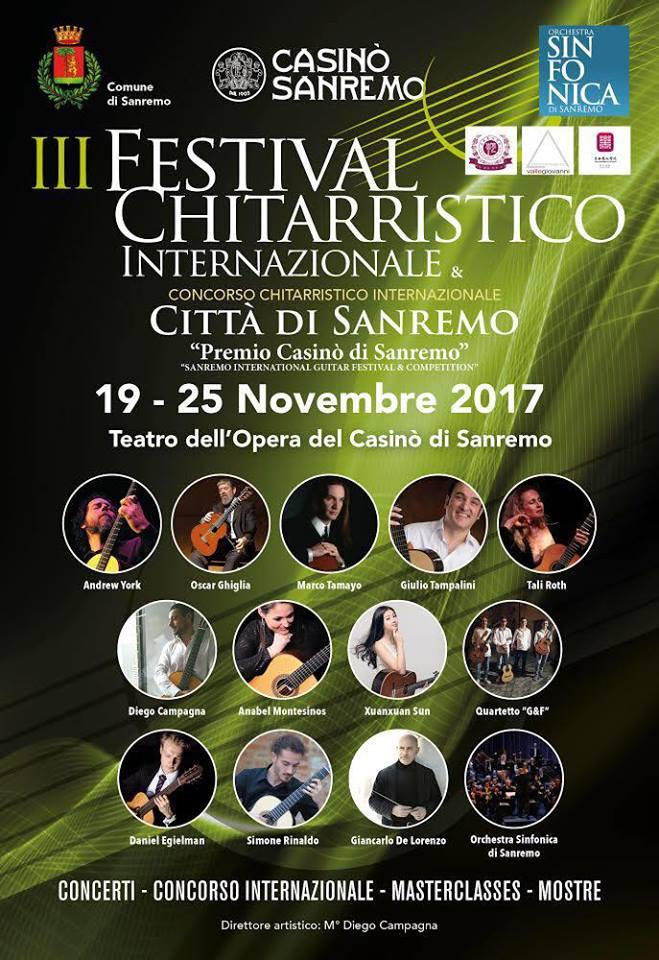 Festival chitarristico internazionale - Sanremo - Simone Rinaldo